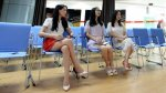 Empleados chinos trabajan motivados gracias a guapas señoritas - Noticias de empleo