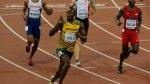 El rey de la velocidad: el triunfo y festejo de Bolt en fotos - Noticias de mundial atletismo 2013