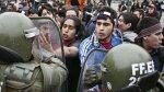Mapuches protestan contra transportistas y represión policial - Noticias de peaje