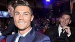 El photobomb de Lionel Messi a Cristiano Ronaldo en el sorteo - Noticias de luis suarez