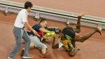 """Usain Bolt bromea sobre accidente: """"Dicen que Gatlin le pagó"""" - Noticias de accidente"""