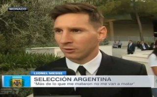 "Lionel Messi: ""Más de lo que me mataron, no me van a matar"""