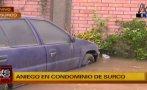 Surco: aniego de grandes proporciones dejó 9 casas inundadas