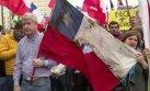 Chile: Manifestaciones por conflicto mapuche [VIDEO]