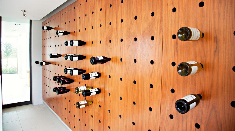 Estantes para los amantes del vino casa y m s for Estantes para vinos