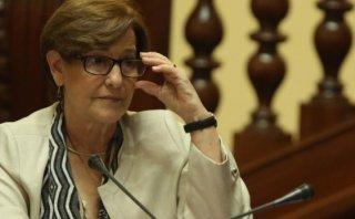 """Susana Villarán defiende a Nadine: """"Hay más temas importantes"""""""