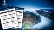 Champions League: FIXTURE completo de la fase de grupos