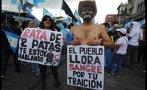 Corrupción en Guatemala: Miles exigen renuncia del presidente