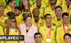 Así homenajeó Brasil a sus deportistas de Toronto 2015 [VIDEO]