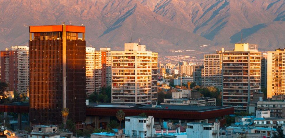 Santiago de Chile a paso rápido