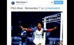 Real Madrid: el PSG lo reta en Twitter por la Champions League