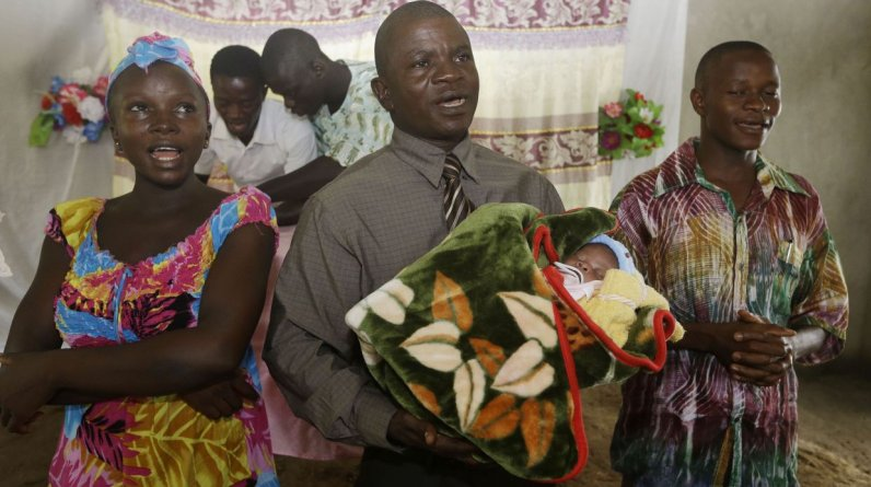 El caso de victoria es emblemático, por ello el día de su alta, el 8 de junio, es ahora el Día Nacional de los Sobrevivientes. (Foto: Sunday Alamba , STF/AP)