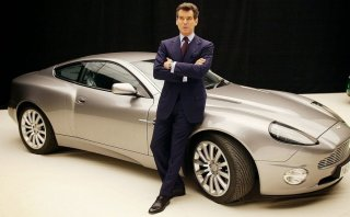 Aston Martin Vanquish de James Bond se quemó