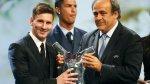 Cristiano Ronaldo reaccionó así tras premiación a Lionel Messi - Noticias de luis suarez