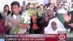 Huancayo: mujer con cáncer terminal cumplió su deseo de casarse - Noticias de matrimonio religioso