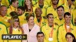 Así homenajeó Brasil a sus deportistas de Toronto 2015 [VIDEO] - Noticias de fotos juegos panamericanos 2015