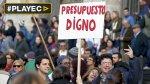 Uruguay: miles protestan por presupuesto para educación [VIDEO] - Noticias de huelga