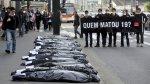 """""""¿Quién mató a 19?"""": Piden justicia por masacre en Sao Paulo - Noticias de delincuentes adolescentes"""