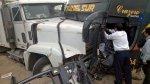Trujillo: ómnibus choca contra tráiler y deja tres heridos - Noticias de accidentes en carreteras