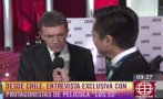 Antonio Banderas se confiesa enamorado del Perú (VIDEO)