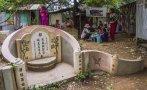 ¿Cómo es vivir dentro de un cementerio en Camboya? [VIDEO]