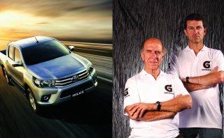 Dakar 2016: Los Ferrand correrán con una Toyota Hilux