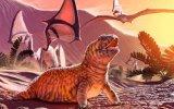 Descubren especie de lagarto que vivió hace 80 millones de años