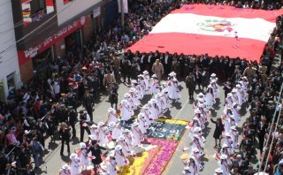 Tacna: el desfile por los 86 años de su reincorporación [FOTOS]
