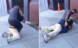 Luchador de MMA dio paliza a sujeto que agredió a mujer [VIDEO]