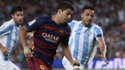 Barcelona y Málaga  igualan 0-0 por la Liga BBVA