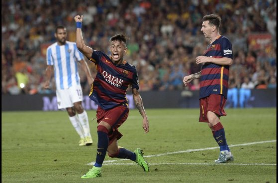 Barcelona: Neymar volvió a jugar después del cuadro de paperas