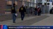 Niño de 4 años falleció tras caer de edificio en Pueblo Libre