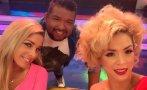 """""""El gran show"""": Sofía Franco bailó con Sheyla y 'Choca' (VIDEO)"""
