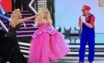 """""""El gran show"""": Monique y Rebosio protagonizaron El Desafío"""