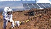 Inicia simulación de viaje a Marte que durará un año