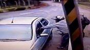 Intentaron asaltar a un policía y terminaron mal [VIDEO]