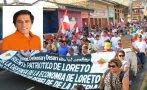 Loreto: Gobernador reitera crítica a nuevo operador de lote 192