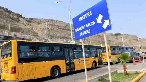 Metropolitano: este es el nuevo servicio que llegará a Mistura