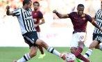 Juventus vs. Roma: 'bianconeros' pierden 2-1 por la Serie A