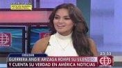 Mávila Huertas defiende su entrevista a Angie Arizaga
