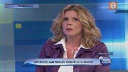 Johanna San Miguel ofrece disculpas públicas a Jorge Bustamante