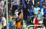 Godoy Cruz vs. Racing suspendido por incidentes en Argentina