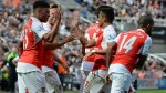 Arsenal venció 1-0 a Newcastle con autogol de Coloccini (VIDEO) - Noticias de vurnon anita