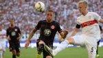 Con Zambrano, Eintracht goleó 4-1 al Stuttgart por Bundesliga - Noticias de 90 segundos