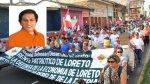 Loreto: Gobernador reitera crítica a nuevo operador de lote 192 - Noticias de