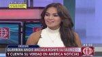 Mávila Huertas defiende su entrevista a modelo Angie Arizaga - Noticias de la libertad
