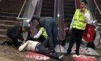San Borja: invidente cayó de escalera mecánica en Real Plaza