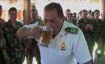 Vraem: policías  festejan ascensos con