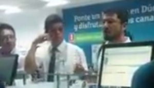 Cliente enojado armó escándalo en local de Movistar [VIDEO]