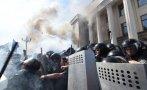 Ucrania: Protestas frente al Parlamento dejan un guardia muerto